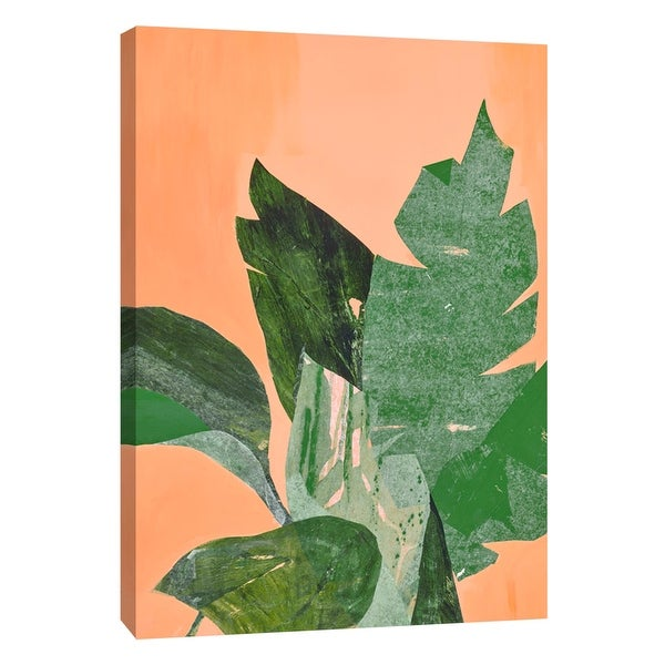 "PTM Images 9-108597 PTM Canvas Collection 10"" x 8"" - ""Breezing 1"" Giclee Leaves Art Print on Canvas"