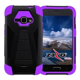Insten Dual Layer Hybrid Stand PC/ Silicone Case Cover for Samsung Galaxy J7 (2015)