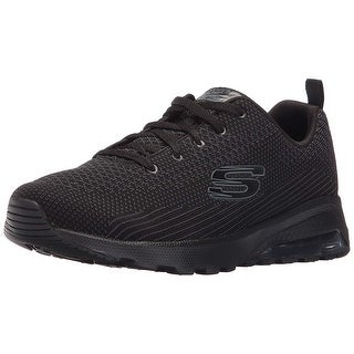 Skechers Sport Womens Skech Air Extreme Awaken Fashion Sneaker, Black