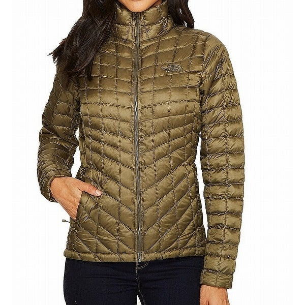 3ff87f9dd Shop The North Face Green Womens Size XXL Full Zipper Puffer Coat ...