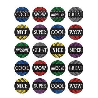 Plaid Stickers
