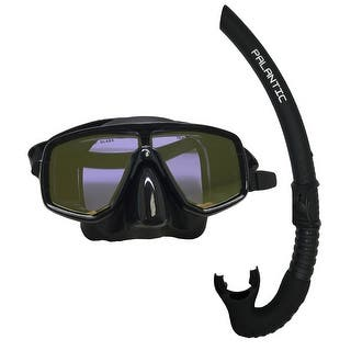 Scuba Choice Silicone Dive Mask With Yellpw Mirror Coated Lense + Black Snorkel Combo|https://ak1.ostkcdn.com/images/products/is/images/direct/fe15ff367450bf94a34195b968ea91b7b2d14ff3/Scuba-Choice-Silicone-Dive-Mask-With-Yellpw-Mirror-Coated-Lense-%2B-Black-Snorkel-Combo.jpg?impolicy=medium