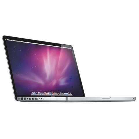 """Apple MacBook Pro MC725LL/A Intel Core i7-2820QM X4 2.3GHz 8GB 500GB 17"""",Silver(Refurbished)"""