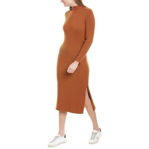 Wayf Charles Henley Mock Neck Sweaterdress