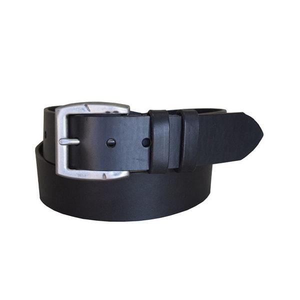 Lejon Western Belt Mens Carry The Line Leather Black