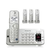 Panasonic KX-TGE274S 1.9GHz 4 Handset Expandable Cordless Phone DECT 6.0 New