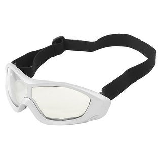 Unique Bargains Unisex Portable Clear Lens Stretchy Band Wind Sand Eyes Protector Goggles