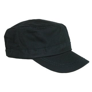 Something Special Men's Cotton Basic Solid Military Cadet Hat (2 options available)
