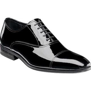 Florsheim Men's Tux Cap Toe Oxford Black Patent Leather