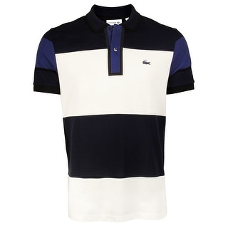 Lacoste Mens Made in France Edition Polo in Navy/Cliff