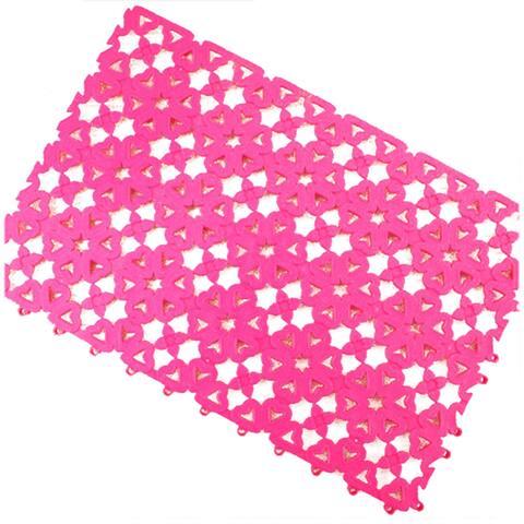 Creative Candy Ground Floor Mat Carpet Anti-skidding - Pink