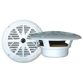 Pyle Audio PYLPLMR61WW PYLE PLMR61W 120 Watts 6.5- Inch 2 Way White Marine Speakers