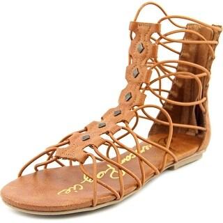 American Rag Aromen Women Open Toe Synthetic Brown Gladiator Sandal