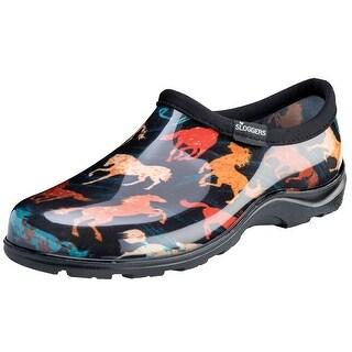 Women's Sloggers Waterproof Comfort Shoe - Horse Spirit Print