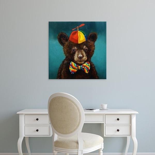 Easy Art Prints Lucia Heffernan's 'Baby Bear' Premium Canvas Art