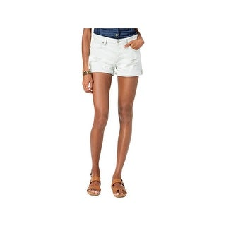 Lucky Brand Womens Denim Shorts Boyfriend Distressed