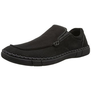 Robert Wayne Mens Trail Faux Suede Slip On Loafers - 8.5 medium (d)