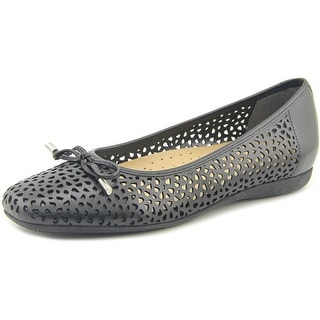 Trotters Sante   Square Toe Synthetic  Flats