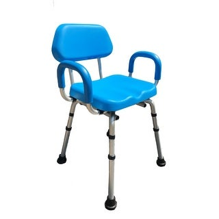 ComfortAble(tm) Deluxe Bath / Shower Chair PADDED with Armrests - Commercial Quality