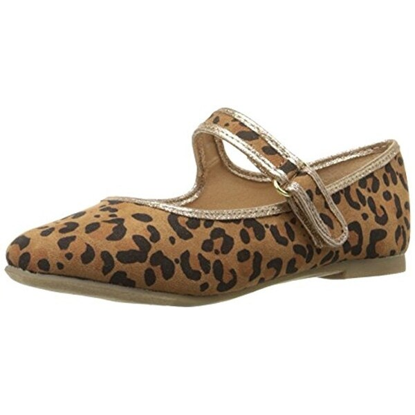 Report Girls Armoni Mary Janes Animal Print Leopard Print