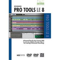 Alfred 00-33635 Pro Audio Series- Beginning ProTools LE 8 - Music Book