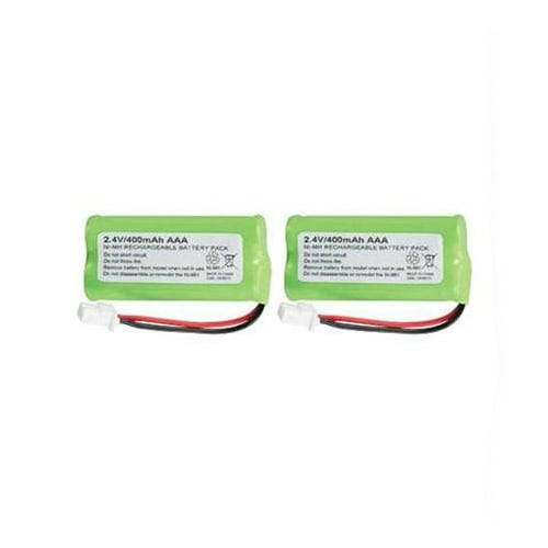 Replacement Battery for AT&T CL80100 / CL80101 / CL80111 Phone Models (2 Pack)