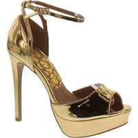 Qupid Women's Avalon-80 Platform Dress Sandal