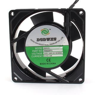 93x93x26mm Plastic Vanes Axial Cooling Fan AC 220/240V 0.07A 13W|https://ak1.ostkcdn.com/images/products/is/images/direct/fe204df9a91ee33386127980999cc7ac54de778a/93x93x26mm-Plastic-Vanes-Axial-Cooling-Fan-AC-220-240V-0.07A-13W.jpg?impolicy=medium