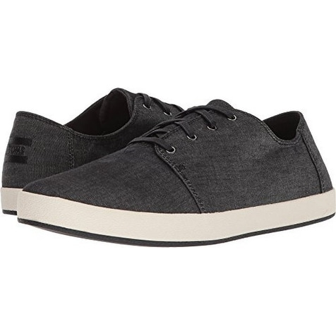 4664931b7ab Shop Toms Mens Payton, Black Chambray - Free Shipping Today - Overstock -  21176493