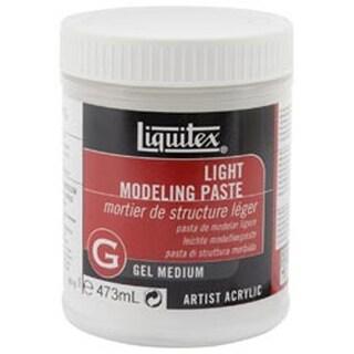 16Oz - Liquitex Light Modeling Paste Acrylic Gel Medium