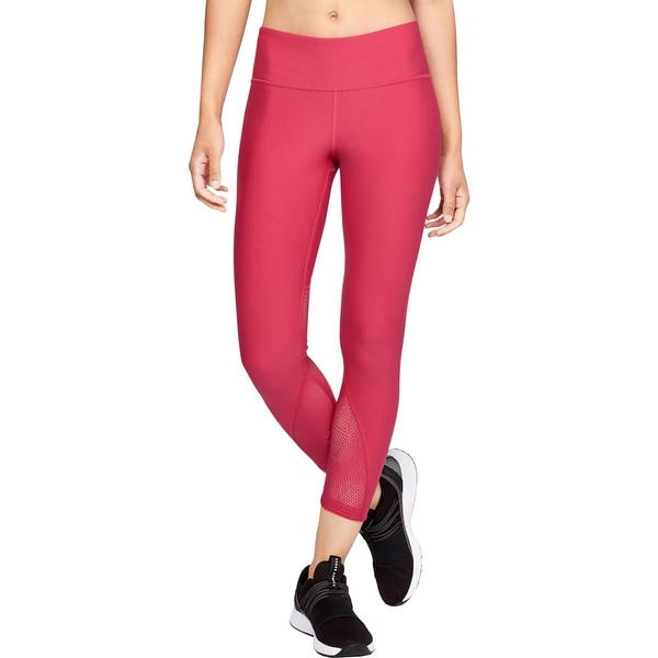Under Armour Womens Athletic Leggings Fitness Yoga - Impulse Pink. Opens flyout.