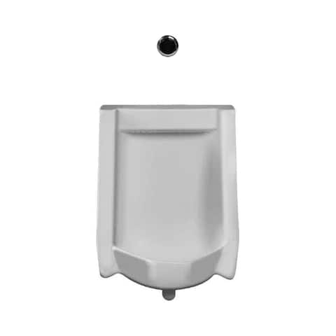Sloan WEUS-1010.1011 Efficiency 0.125 GPF Urinal with Rear Spud Placement and Royal Flushometer - White