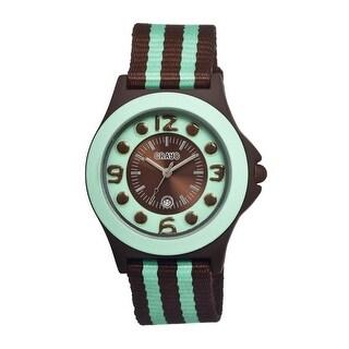 Crayo Carnival Women's Quartz Watch, Nylon Strap