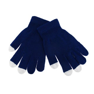 Stretchy Smartphone Touchscreen Winter Gloves (Option: Blue)