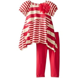 Rare Editions Striped 2PC Pant Outfit - 24 mo