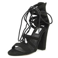 Chelsea & Zoe Womens Elyse Open Toe Casual Strappy Sandals - 7.5