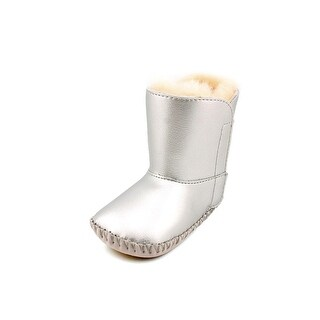 Ugg Australia Cassie Metallic Round Toe Leather Winter Boot