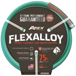 """Apex 9550-75 Flexalloy Garden Hose, 3/4"""" x 75'"""