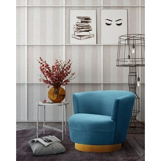 Link to Noah Lake Blue Swivel Chair Similar Items in Accent Chairs