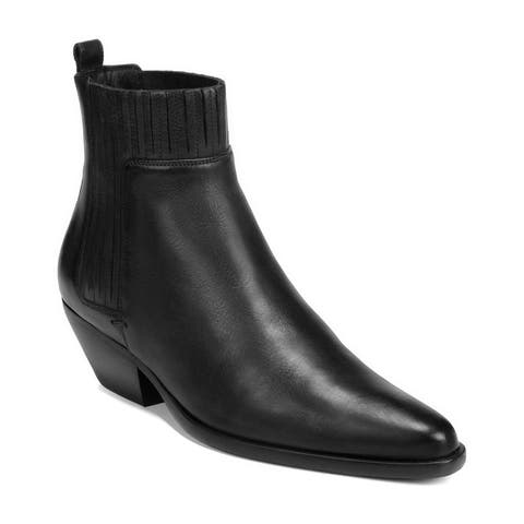 Vince Eckland Leather Bootie