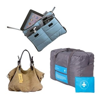 Essential Journey Travel Bag Bundle includes 3 Bags