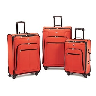 American Tourister AT Pop Plus 3 Piece Set, Orange