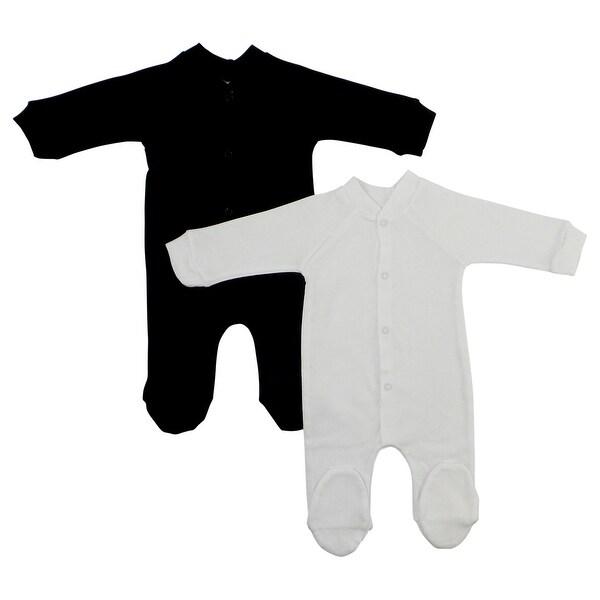 Bambini Interlock Closed-toe Sleep & Play (Pack of 2) (White, Medium)