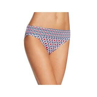 Tommy Bahama Womens Wide Band Printed Swim Bottom Separates