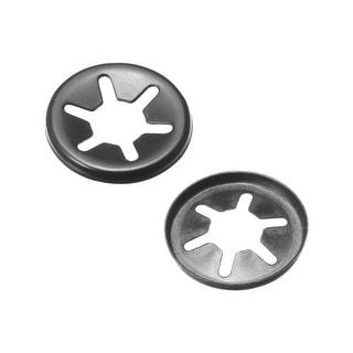 Starlock Washers , M6x15 Internal Tooth Clips Fasteners Assortment Kit 100pcs