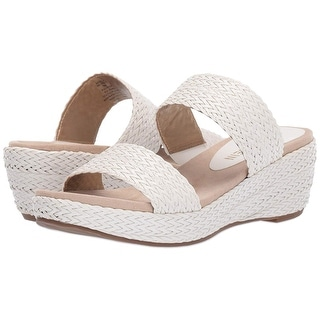 Link to Anne Klein Womens Akzala Open Toe Casual Slide Sandals Similar Items in Women's Shoes