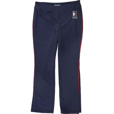 Tommy Hilfiger Womens Varsity Athletic Sweatpants