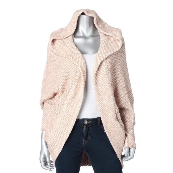 Free People Womens Cardigan Sweater Wool Blend Hooded