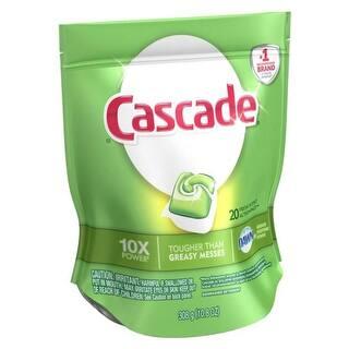 Cascade 97716 20 Action Pac Dishwasher Detergent, Citrus, 10.8 Oz|https://ak1.ostkcdn.com/images/products/is/images/direct/fe3296e82e6633eed9c67c7a7896e33d543f2317/Cascade-97716-20-Action-Pac-Dishwasher-Detergent%2C-Citrus%2C-10.8-Oz.jpg?impolicy=medium