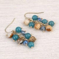 Mad Style Biscayne Blue Earring - biscayne blue